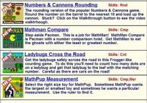 New Math Games