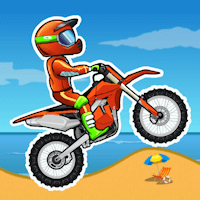 Moto X3M game icon