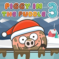 Piggy in the Puddle Christmas icon