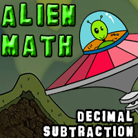 Alien Math Decimal Subtraction