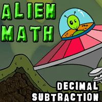 Alien Math Decimal Subtraction