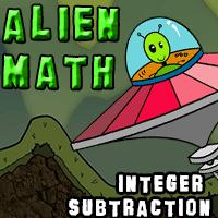 Alien Math Integer Subtraction
