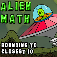 Alien Math Rounding Nearest Ten