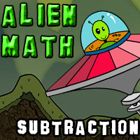 Alien Math Subtraction