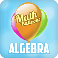 Math Balloons Algebra
