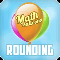 Math Balloons Rounding