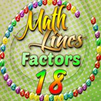Math Lines Factors 18