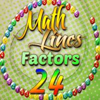 Math Lines Factors 24