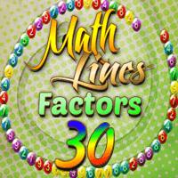 Math Lines Factors 30