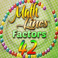 Math Lines Factors 42