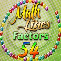 Math Lines Factors 54