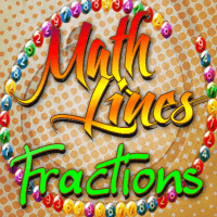 Math Lines Fractions Icon