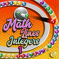 Math Lines Integers 1 Icon