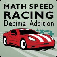 Math Speed Racing Decimal Addition