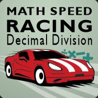 Math Speed Racing Decimal Division