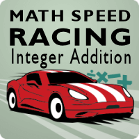 Math Speed Racing Integer Addition icon