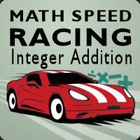 Math Speed Racing Integer Addition