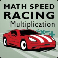 Math Speed Racing Multiplication