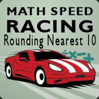 Math Speed Racing Rounding Nearest Ten