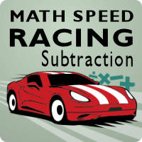 Math Speed Racing Subtraction