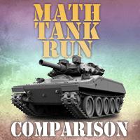 Math Tank Run Comparison