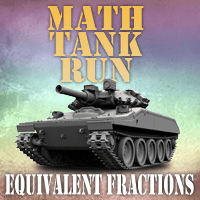 Math Tank Run Fractions