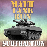 Math Tank Run Subtraction
