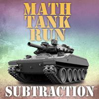 Math Tank Run Subtraction