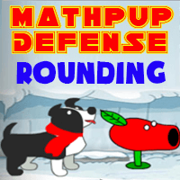 MathPup Defense Rounding icon