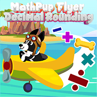 MathPup Flyer Decimal Rounding Whole icon
