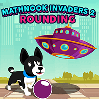 MathPup Invaders 2 Rounding icon