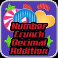 Number Crunch Decimal Addition