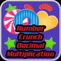 Number Crunch Decimal Multiplication