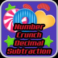 Number Crunch Decimal Subtraction