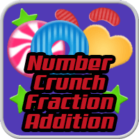 Number Crunch Fraction Addition