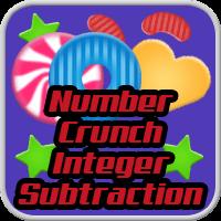 Number Crunch Integer Subtraction
