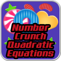 Number Crunch Quadratic Equations icon
