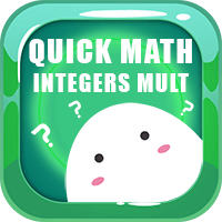 Quick Math Integers Multiplication Icon