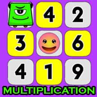 Smiley Math Multiplication