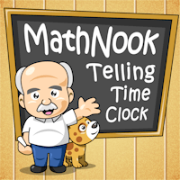 MathNook Telling Time Clock icon