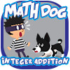 Math Dog Integer Addition Game image