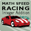 Math Speed Racing Integer Addition