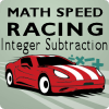 Math Speed Racing Integer Subtraction