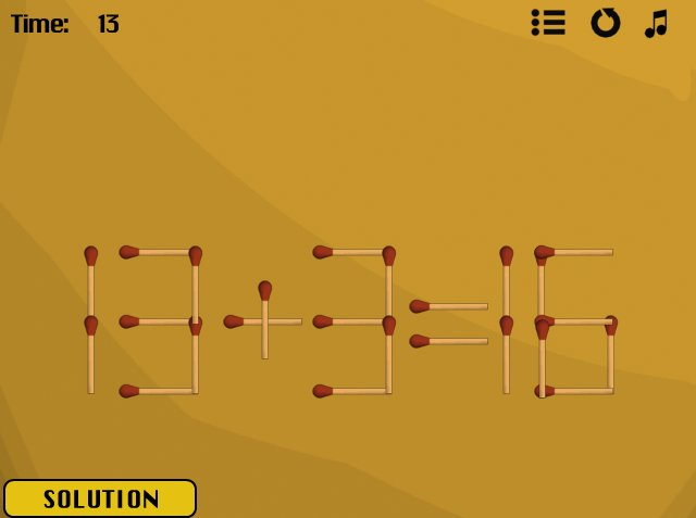 Jazz Matches 2's Level #18 solved image