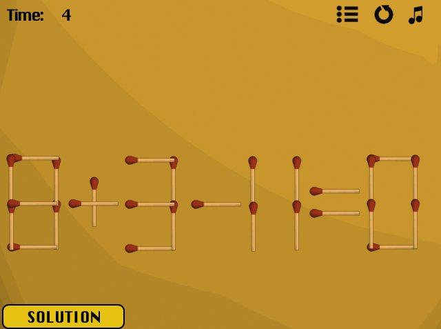 Jazz Matches 2's Level #21 solved image