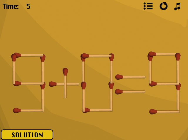 Jazz Matches 2's Level #3 solved image