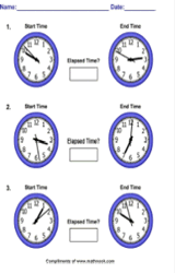 Printables Time Worksheet Generator worksheet generators elapsed time generator pic