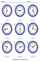 Printables Time Worksheet Generator worksheet generators telling time generator pic
